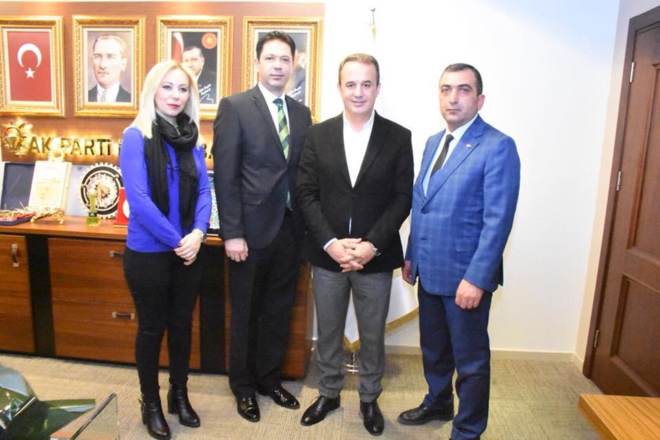 Akp İzmir İl Başkanı Sayın AYDIN ŞENGÜL'e hayırlı olsun ziyaretimiz.